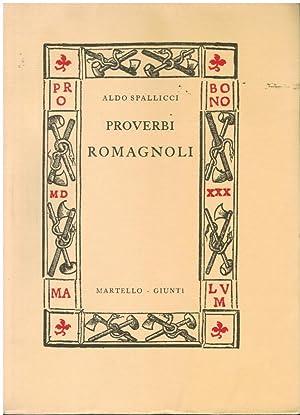 Proverbi romagnoli,: Spallicci Aldo