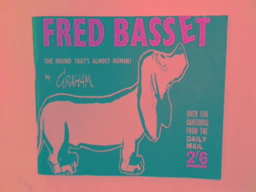 Fred Bassett (no.1) GRAHAM The first Fred Bassett strip cartoon collection. Pages yellowed; small stain on back cover Used - Good. Good stapled paperback