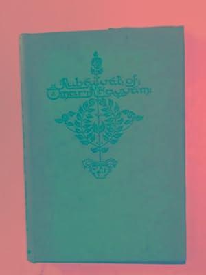 The Rubaiyat of Omar Khayyam: FITZGERALD, Edward /
