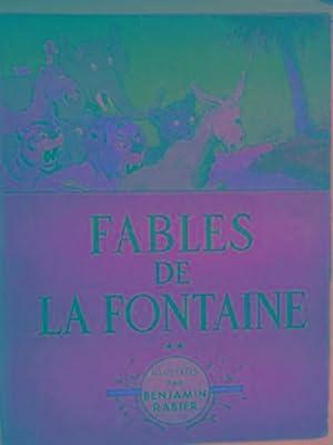Fables de la Fontaine: DE LA FONTAINE,