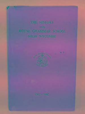 The history of the Royal Grammar School,: ASHFORD, L.J. &