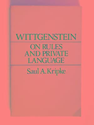 wittgenstein rules and private language