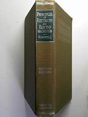Principles of electricity and electromagnetism: HARNWELL, Gaylord P.