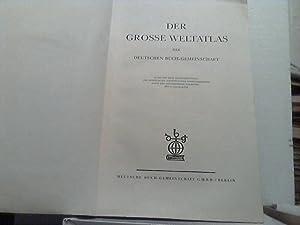 Der Große Weltatlas der Deutschen Buch-Gemeinschaft.
