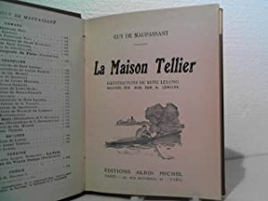 La Maisson Tellier. - Illustrations de Rene Lelong.