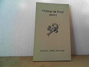 Solange die Kerze brennt. - 4 zeitlose Geschichten. von. Titelvign. von Hedwig Zum Tobel.: ...