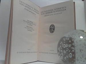 Erzählende Schriften. - [komplett in 4 Bänden]. (=Gesammelte Werke, 1. Abteilung, Die erz...