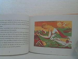 Über die Thaya. (Eine literarische Reise von Raabs bis Hnanice). - Ill. Georg Koenigstein.: ...