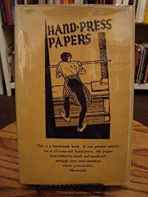 HAND-PRESS PAPERS