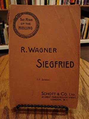 SIEGFRIED: SECOND DAY OF THE TRILOGY-THE RING: Wagner, Richard