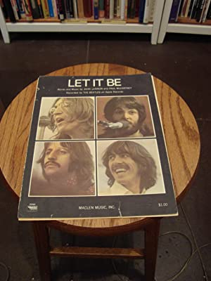 LET IT BE: McCartney, Paul; Lennon,