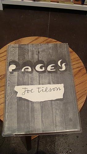JOE TILSON PAGES: Tilson, Joe