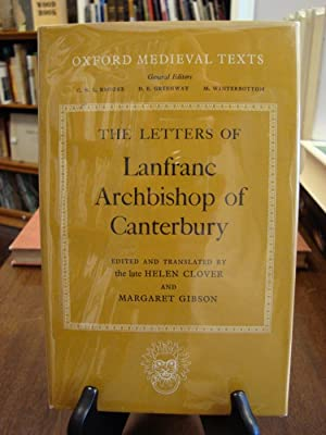 LETTERS OF ARCHBISHOP OF CANTEBURY: Clover, Helen and Gibson, Margaret