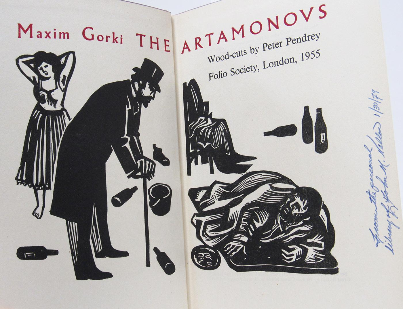 The Artamonovs: Gorki, Maxim Translated By Alec Brown