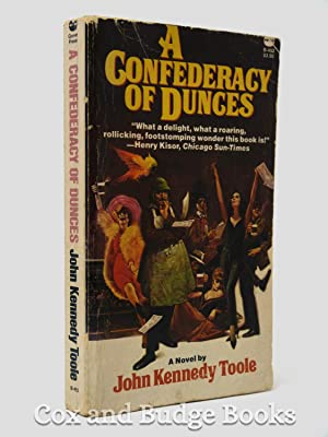 A Confederacy of Dunces (signed Copy, Inscribed: John Kennedy Toole,