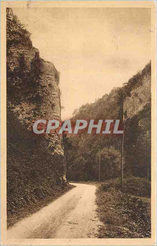 JUJURIEUX ET ENVIRONS - Carte Postale Ancienne JUJURIEUX Gorges de Lbuire