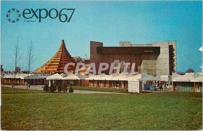 Carte Canada Montreal.Carte Postale Moderne Montreal Canada Expo 67