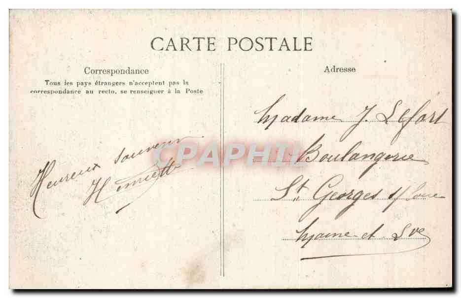 Paris Carte Postale Ancienne Le Petit Journal Bureau de l'administrateur delegue Directeur de la ...
