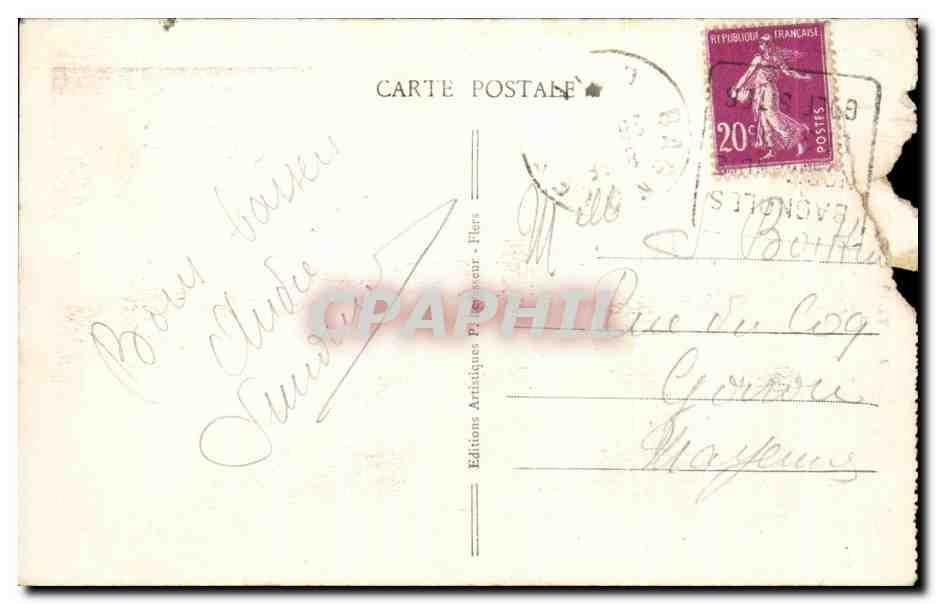 Carte Postale Ancienne Bagnoles da L'Orne