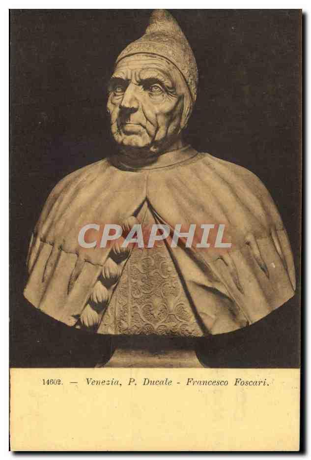 Carte Postale Ancienne Venezia P Ducale Francesco