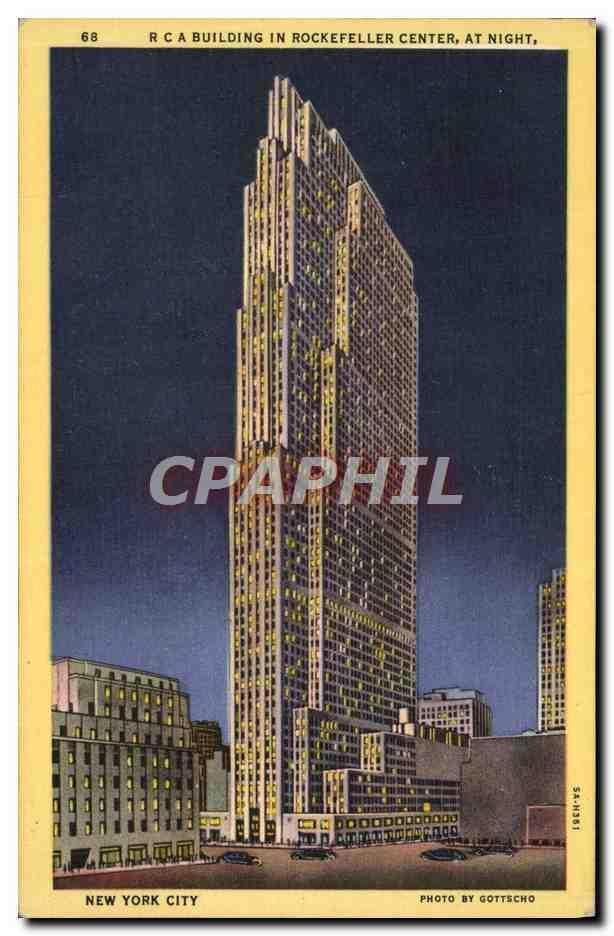 Carte Postale New York.Carte Postale Moderne New York City Rca