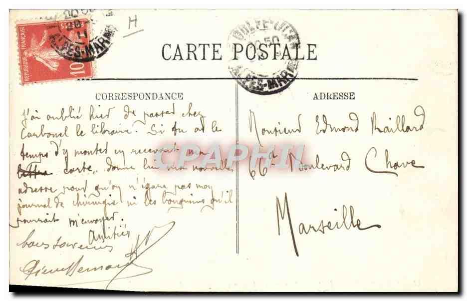 Carte Postale Ancienne Poterie Ceramique Vallauris La fabrication de la poterie artistique TOP ...