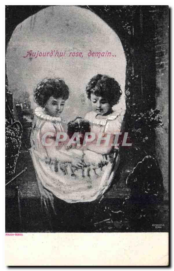 Carte Postale Ancienne Fantaisie Crane Enfants Carte Postale Ancienne Fantaisie Crane Enfants