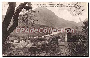 Carte Postale Ancienne Valle du Verdon Castellane
