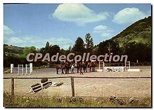 Carte Postale Ancienne Monteils Aveyron Club Hippique
