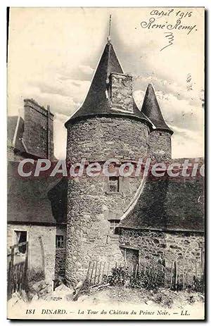 Carte Postale Ancienne Dinard La Tour Du