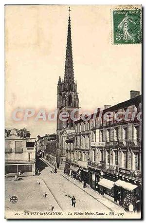 Carte Postale Ancienne St Foy La Grande