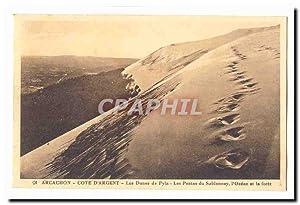 Arcachon Carte Postale Ancienne cote d'argent Les