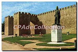 Carte Postale Moderne Lagos Portugal Muralhas Monumento