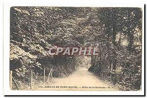 Abbaye de port Royal Carte Postale Ancienne