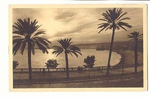 Nice Carte Postale Ancienne Crepuscule sur la
