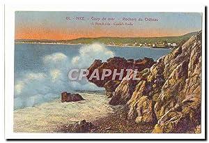 Nice Carte Postale Ancienne Coup de mer
