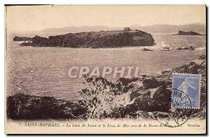 Carte Postale Ancienne Saint Raphael (Var) Le
