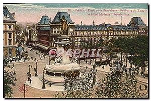 Carte Postale Ancienne Paris Place de la