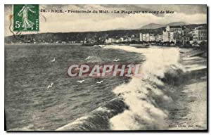 Carte Postale Ancienne Nice Promenade du Midi