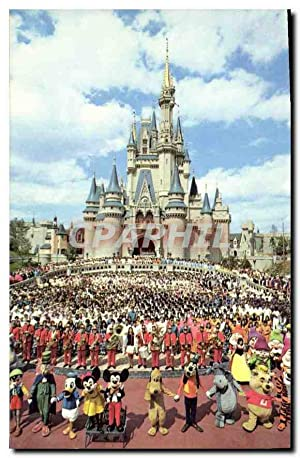 Carte Postale Moderne Walt Disney World Cinderella Castle