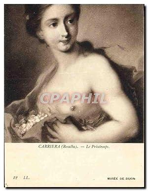 Carte Postale Ancienne Carriera Rosalba Le Printemps