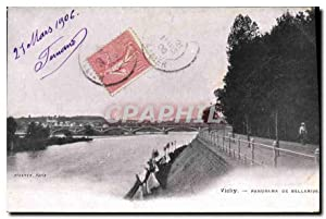 Carte Postale Ancienne Vichy Panorama de Bellerive