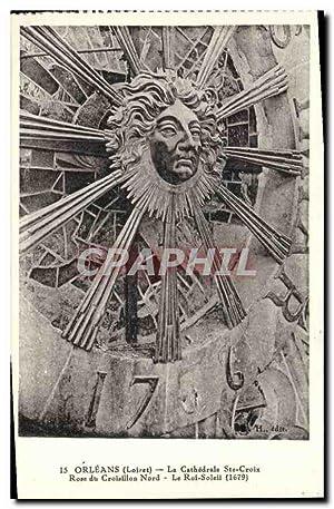 Carte Postale Ancienne Orleans Loiret la cathédrale