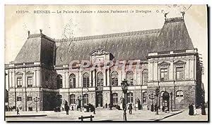 Carte Postale Ancienne Rennes Le Palais de