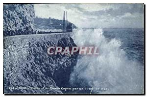 Carte Postale Ancienne Nice Rochers de Rauba
