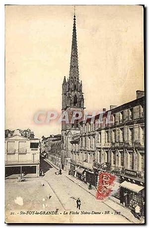 Carte Postale Ancienne Ste Foy la Grande