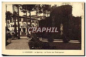 Carte Postale Ancienne Hossegor le Sporting le