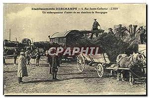 Reproduction Etablissements Deschamps Rue Sainte Catherine Lyon
