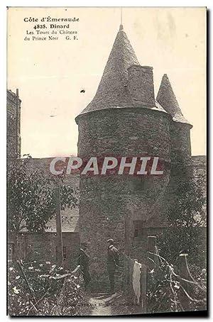 Carte Postale Ancienne Cote d'Emeraude Dinard Les