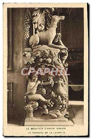 Carte Postale Ancienne Le Moutier d'Ahun Creuse